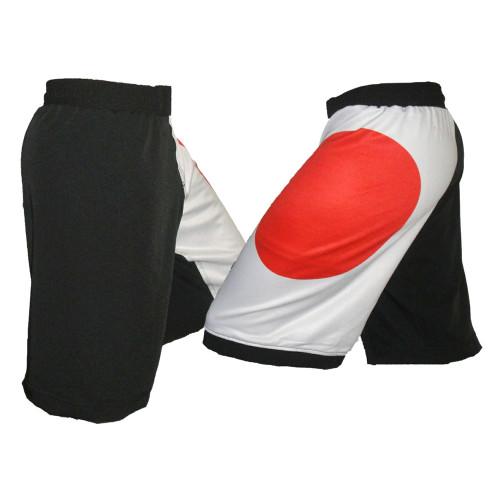 Japan Flag MMA Shorts