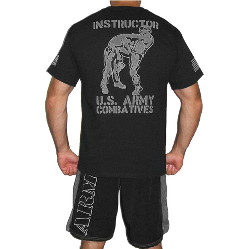 Black and Silver Instructor Shirt