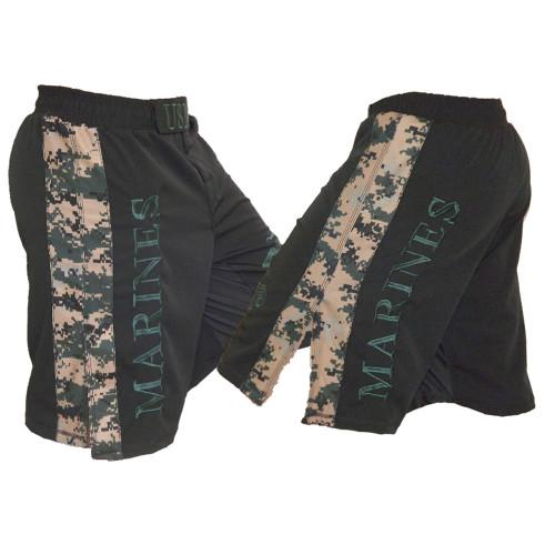 USMC MARPAT Digi Cam Stripe Fight Shorts