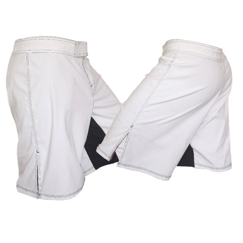 Youth White MMA Shorts