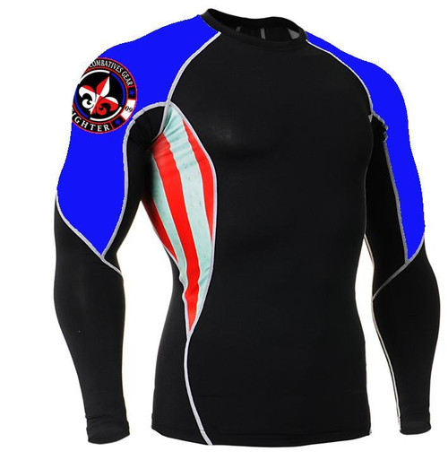 Combatives Gear Fighter Long Sleeve Rash Guard