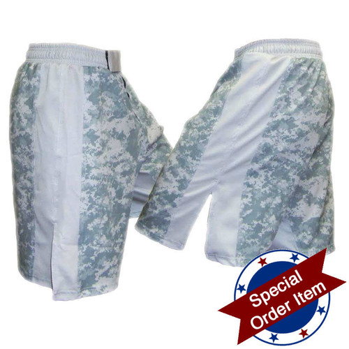ACU and Grey MMA Fight Shorts