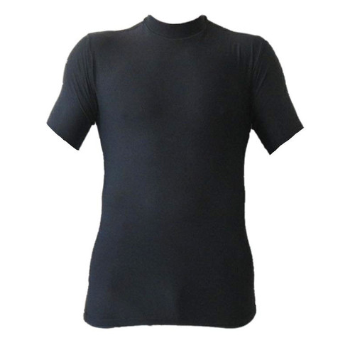 Black Short Sleeve Rash Guard