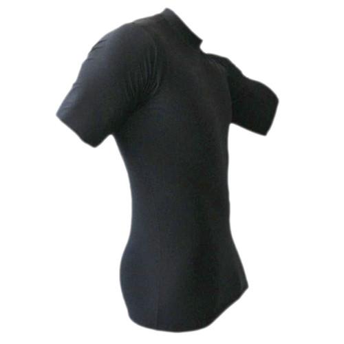 Black Short Sleeve Rash Guard