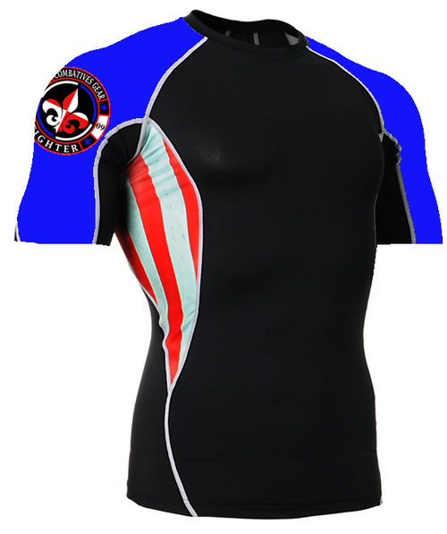 Combatives Gear Fighter Short Sleeve Rash Guard