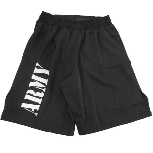 Black and Silver MACP Fight Shorts