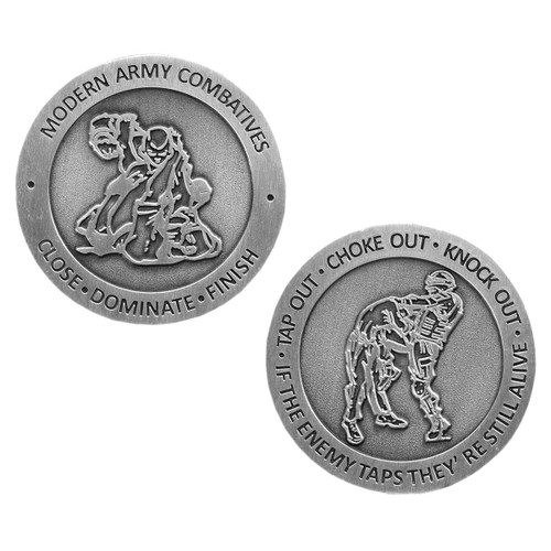 Army Combatives Challenge Coin 2 inch dia