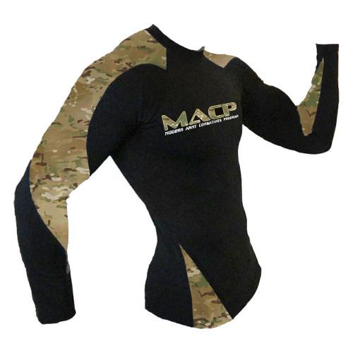 MACP MultiCam Long Sleeve Rash Guard