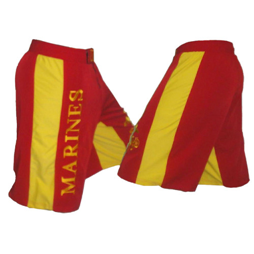 USMC Fight Shorts - Side View