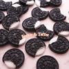 Cookies & Cream Biscuit Sweets Deco Kawaii Cabochon - 8 pieces