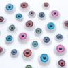 Halloween Eyeball Plastic Cabochon - 5 pieces