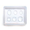 Mini Oval Gems Silicone Resin Mold