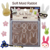 Rabbit Soft Silicone Mold (made in Japan)