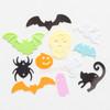 Orange Bat Sequins Embellishment - 50g