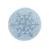 Winter Christmas Snowflake Clear Silicone Mold