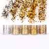 Gold Champagne Colours Glitter Set (5 pieces)