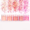 Pink Shade Colours Glitter Set (5 pieces)