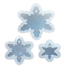 Chunky Snowflake Charm Silicone Mold (3 Size)
