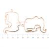 Virgo Open Bezel Metal Charm (Rose Gold) (3 pieces)
