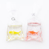 Fish in a Bag Charm (2 pieces)