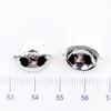 Bear Ears Glue on Cap Hoop Charm (2 pieces)