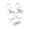 Keychains with Chain Finding Set (Silver)