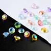 Diamond Faceted Crystal Gems Rhinestones (~90 pieces)
