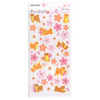 Sakura & Puppy Stickers with Gold Foil