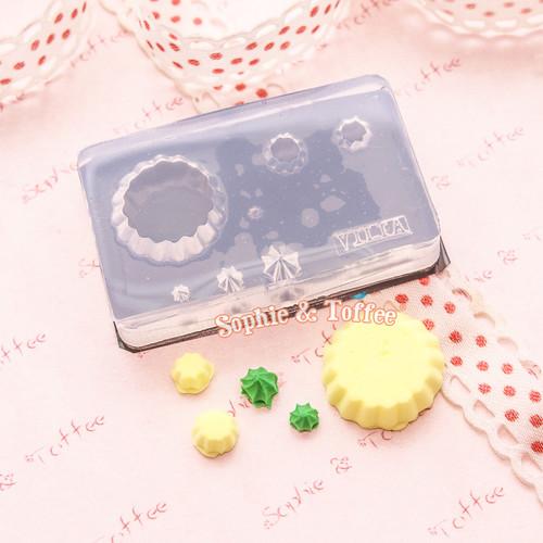 Cupcake Tarts & Cream Silicone Mold