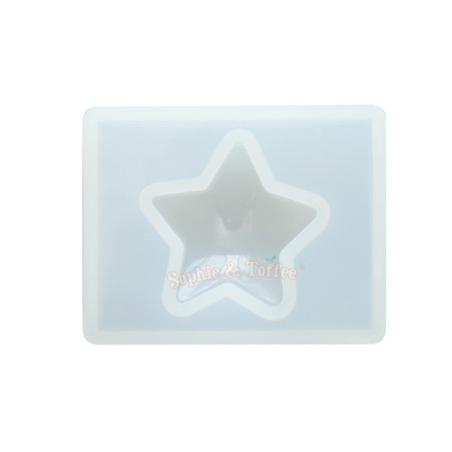 Puffy Star Silicone Mold (33mm x 32mm)