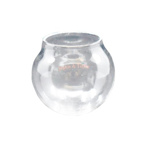 Water Glass Globe Terrarium - 2 pieces (35mm) (For Mermaid Globe Kit)
