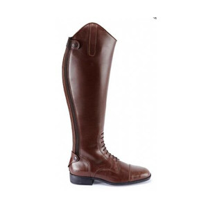 Caldene Long Leather Riding Boots Ashford - Brown Standard