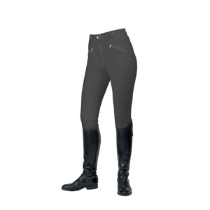 Mark Todd Ladies Gisborne Breeches - Charcoal