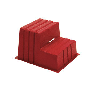 Stubbs Mountie S521 Horse Mounting Block - Red