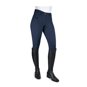John Whitaker Breeches Horbury Full Seat Ladies - Navy