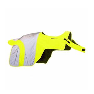 Equisafety Mercury Exercise Rug - Hi-Viz Yellow