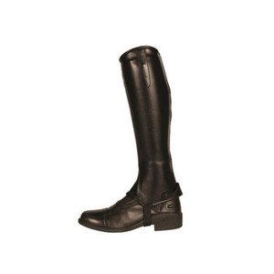 Mark Todd Toddy Synthetic Stretch Half Chaps - Adult Short Black