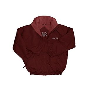 Mark Todd Fleece Lined Blouson Unisex Jacket - Burgundy