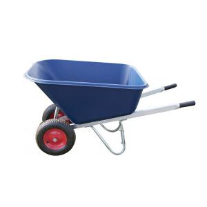 Carrimore Twin Wheel Wheelbarrow - 200L - Blue