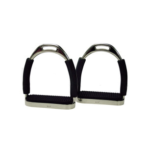 Protack Flexi Stirrups with Rubber Treads