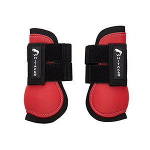 John Whitaker Tendon and Fetlock Boots - Red
