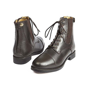 Elico Bramhope Zip / Lace Paddock Boot - Brown