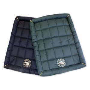 Country Pet Waterproof Quilted Small Dog Mat - Bottle Green