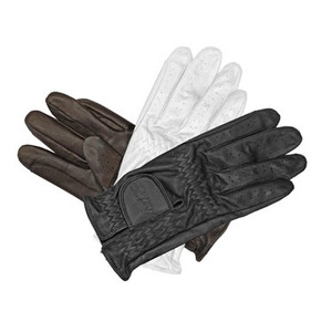 Mark Todd Leather Riding / Show Gloves - Brown