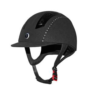 Gatehouse Chelsea Air Flow Pro Suedette Crystal Riding Hat - Black
