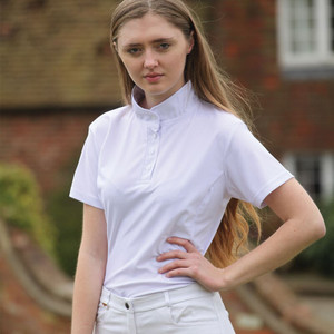 Rhinegold Savannah Plain Show Shirt - White