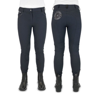 John Whitaker Shepley Breeches  - Black
