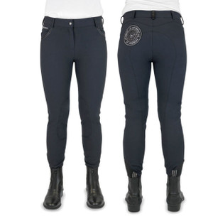 John Whitaker Shepley Breeches  - Navy