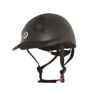Gatehouse Air Rider MK II Riding Helmet Adult- Matt Black