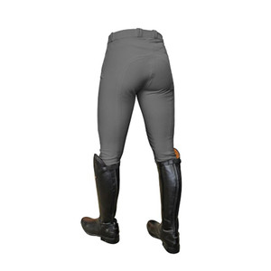 Mark Todd Ladies Coolmax Grip Breeches - Grey